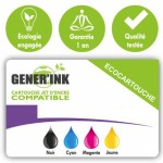 GENERINK-H-364XLY-HP CN687/(N°364XL)-INK LEVEL CHIP-Y-REMA